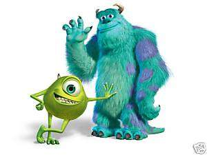 MONSTERS INC MIKE & SULLY IRON ON T SHIRT TRANSFER
