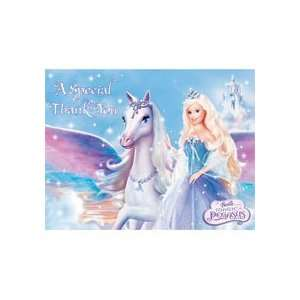 Barbie Pegasus Thank You Notes Toys & Games