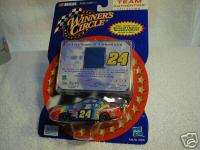 2001 Winner Circle Team Authentics Jeff Gordon # 24