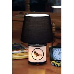 BALTIMORE ORIOLES Team Logo 12 Tall DUAL LIT ACCENT LAMP