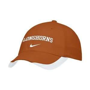 Nike Texas Longhorns Burnt Orange Pro Swoosh Flex Fit Hat