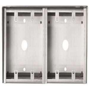 Aiphone Horizontal Surface Mount Box, HID SS 2 GANG SUB