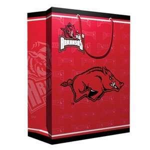 Arkansas Razorbacks NCAA Medium Gift Bag (9.75 Tall
