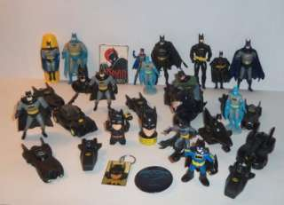 Huge Lot 32 Pc Batman Toy Collection Metal Die Cast Cars