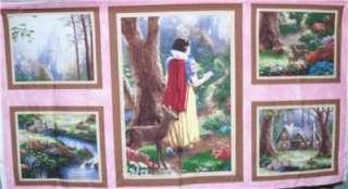 Disney Thomas Kincaid Snow White Panel