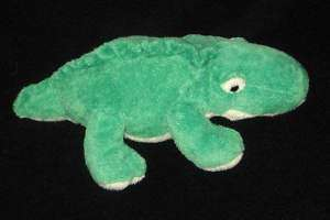 Ty Pluffies Chomps Alligator Crocodile Plush Baby Lovey