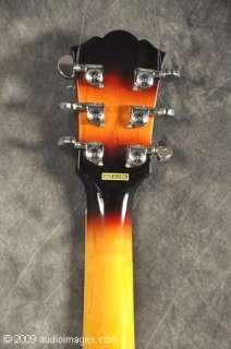 Washburn Jazz Box Electric Guitar NEW J3 Sunburst Case |