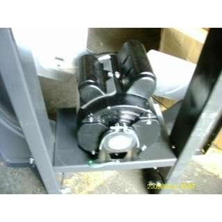 DAYTON DIRECT DRIVE 24 EXHAUST FAN 1/2 HP STEEL FRAME 160097