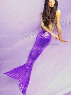 mermaid tail fin monofin swimmable costume Caribbean