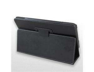 Folio Leather Stand Case PU for Viewsonic G Tablet 10.1