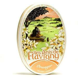 Abbaye de Flavigny orange Drops 1.76 oz Grocery & Gourmet Food