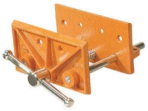 Adjustable Clamp 6 1/2, Light Duty, Bench Woodworkers Vise