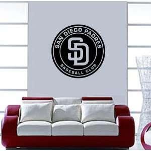 San Diego Padres MLB Vinyl Decal Sticker / 22 x 22