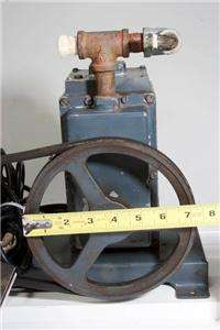 Vacuum Pump & Motor with Foot Switch )))