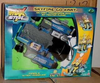 MAX STEEL SKYFIRE GO KART