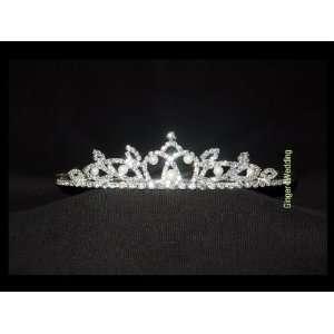 Pearls Bridal Wedding Tiara Crystals Crown Promo Party