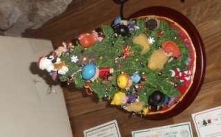 Danbury Mint Peanuts Holiday Christmas Tree hand painted sculpture