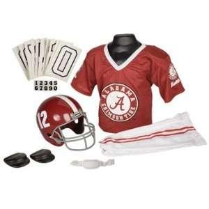 Alabama Crimson Tide UA NCAA Football Deluxe Uniform Set