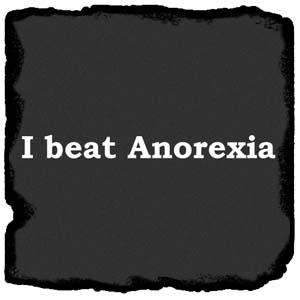 Beat Anorexia Funny Rude Adult Comedy T Shirt