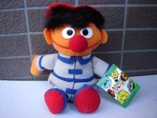 Sesame Street Ernie Fireman Uniform UFO Lucky Plush HTF