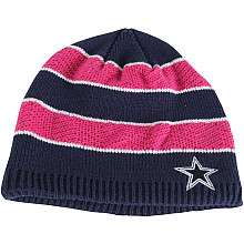 Reebok Dallas Cowboys Womens Breast Cancer Awareness Knit Hat