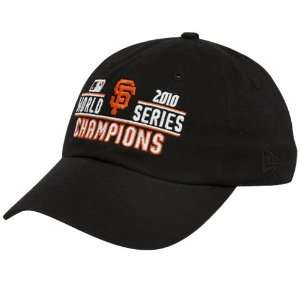 New Era San Francisco Giants Ladies Black 2010 World Series