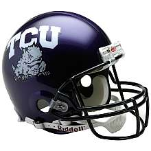 Riddell TCU Horned Frogs Pro Line Helmet VSR4   NFLShop