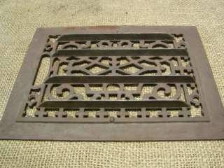 Vintage Cast Iron Register Grate > Antique Old Hardware Architectural