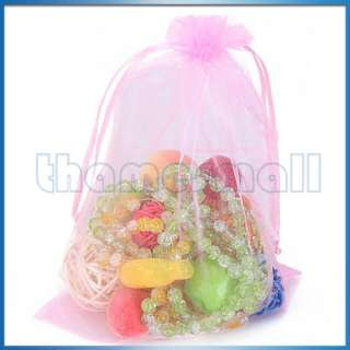 Gift Bags Jewelry Pouch Party Xmas Wedding Favor 6Color U Pick