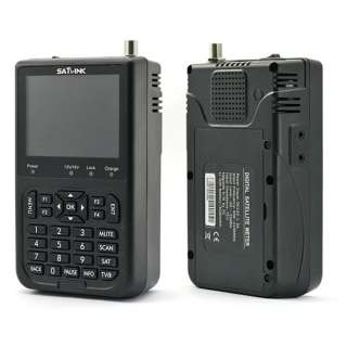 Satlink WS 6906 DVB S FTA Digital Satellite Signal Finder Meter