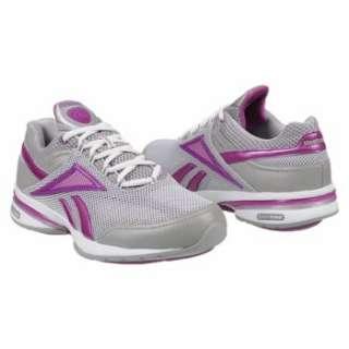 Athletics Reebok Womens EasyTone Reenew Grey/Purple/White Shoes
