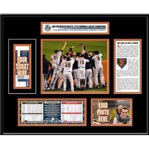 2010 NLCS Ticket Frame   San Francisco Giants
