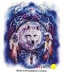 Shirt mit Wolf Motiv Kinderd Spirits, T Shirt mit Wolf Motiv Wolf