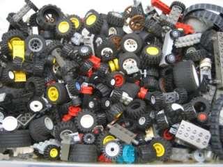 10 LEGO WHEELS PAIRS assortment cars trucks city town tires racecar