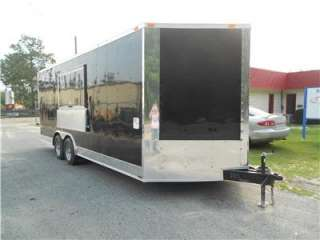 NEW 8.5x20 8.5 X 20 Enclosed Concession Food Vending BBQ Trailer