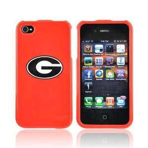 GEORGIA BULLDOGS For NCAA iPhone 4 Hard Case Cover Cell
