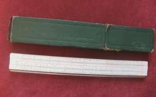 FABER CASTELL GERMANY DARMSTADT 1/54 SLIDE RULE 1957
