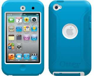Otterbox iPod Touch 4G 4th Generation Defender Case Cover BLUE WHITE