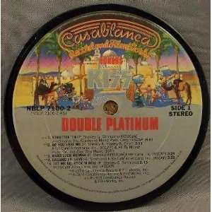 Kiss   Double Platinum (Coaster)