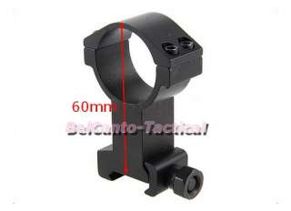 Extra High Profile 30mm Scope Mount Ring for Weaver Picatinny Rail