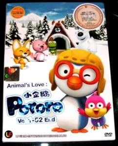 DVD Animals Love Pororo Little Penguin Vol. 1   52 End