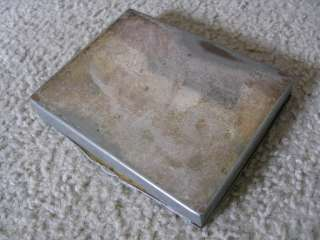 Silver Co Silver Plated Footed Hinged Snuff Tobacco Snuff Box
