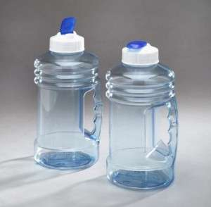 Big 1 1/2 Liter Personal Plastic Sports Water Bottle