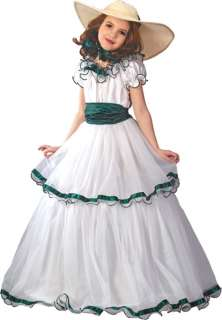 Beautiful Southern Belle Child Halloween Costume