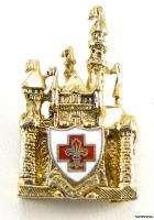 ARMY MEDICAL   Auxilium Omnibus Military Red Cross PIN