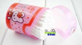 Cute Hello Kitty Cotton Swab Q tips 100 PCS