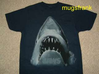 New Jaws Movie Shark Mouth Open T Shirt