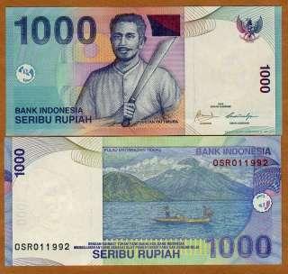 Indonesia, 1000 Rupiah, 2000 / 2009, P 141 (141j), UNC