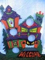 Haunted House Halloween Bean Bag Yard Art Decoration
