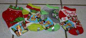 NEW Boys Disney Pixar TOY STORY Socks ~4 Choices~